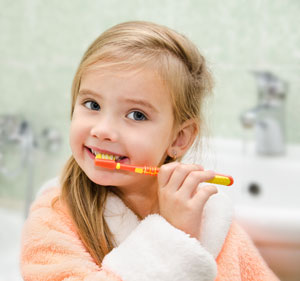 Brushing Teeth - Pediatric Dentist in Ennis and Waxahachie, TX