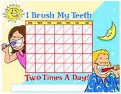 Color Brushing Chart - Pediatric Dentist in Waxahachie, TX