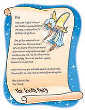 Tooth Fairy Letter - Pediatric Dentist in Waxahachie, TX